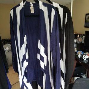 2, YES TWO, Asymmetrical Hem Cardigans